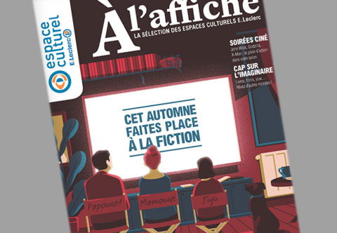 Catalogue à l'affiche